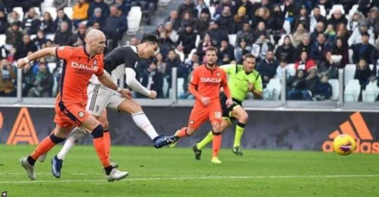 Serie A: Ronaldo Scores Twice In Juventus Win