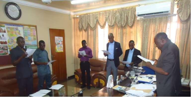 Minister Inaugurates 2020 Bono Regional Census Committee