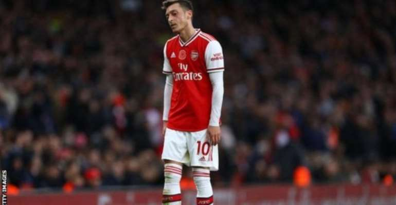 China's State TV Pulls Live Arsenal Game After Ozil Comments