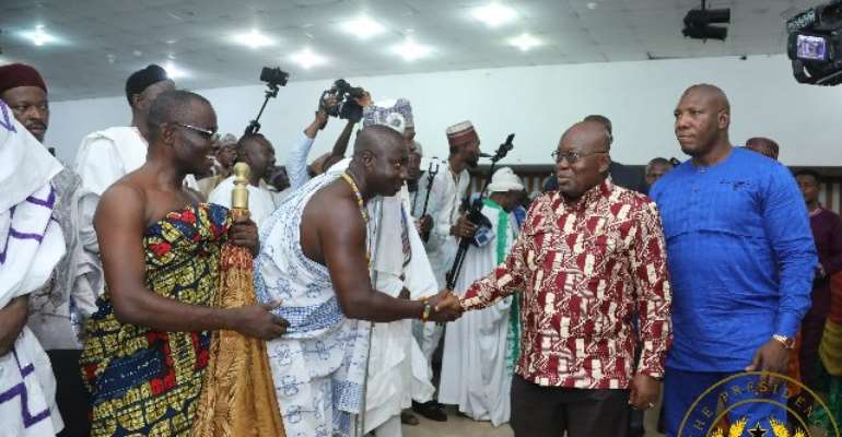 'Don't be used by irresponsible politicians for violence in 2020' - Akufo-Addo to Muslim youths