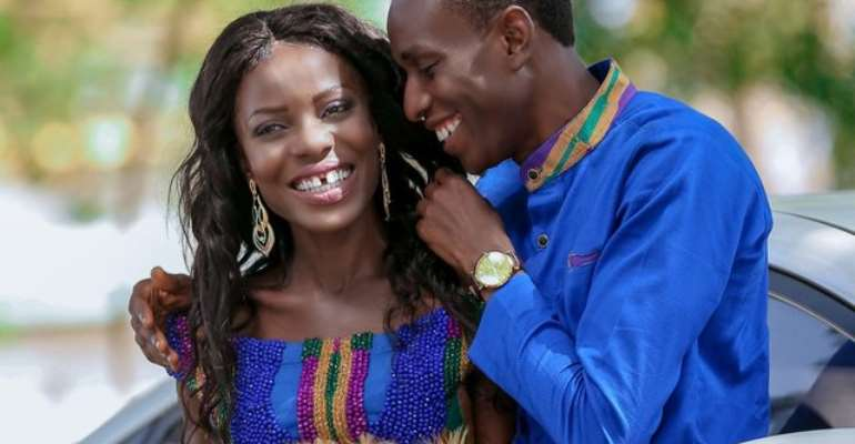 Yaw Siki and wife