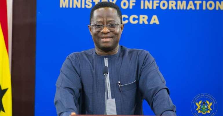 John Peter Amewu – Minister of Energy