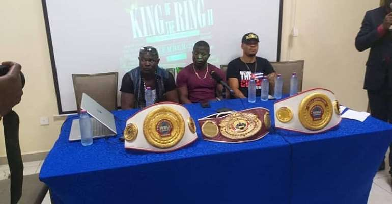 Bukom Banku And Top Boxers Sule Olagbade, King Davidson For King Of The Ring Part II