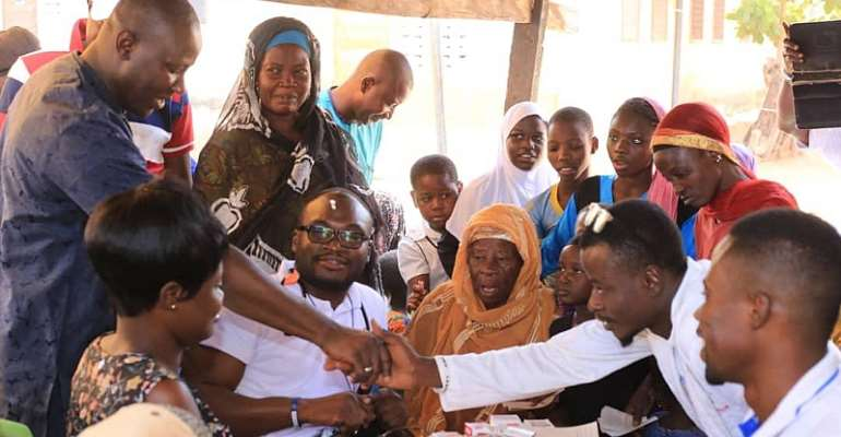NABCO CEO Organises Free Medical Care For Constituents