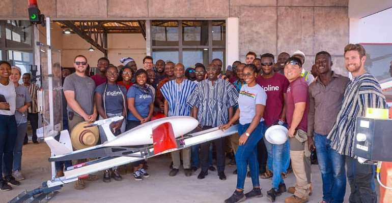 North East: Bawumia inspects third Zipline drone distribution centre at Kukua