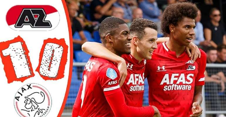 Myron Boadu's Late Goal Gives AZ Alkmaar 1-0 Victory Against Ajax