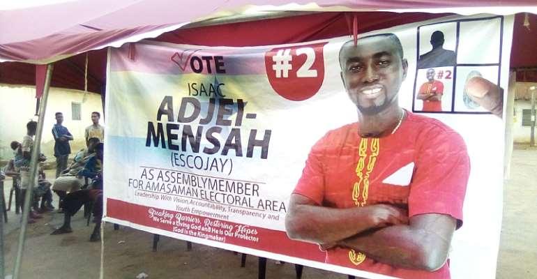 Isaac Adjei – Mensah Organizes Free Health Screening In Amasaman