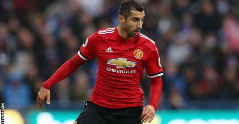 Man Utd: Jose Mourinho May Allow Henrikh Mkhitaryan To Leave