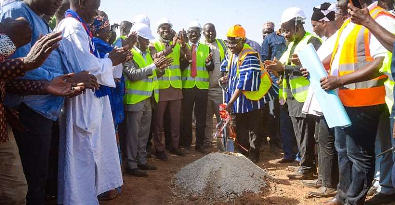 Bawumia Cuts Sod For 100-Bed Hospital In Walewale