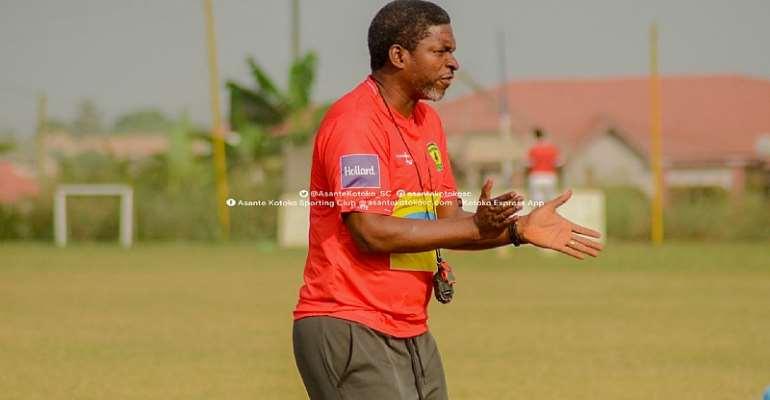 Maxwell Konadu Oversees First Training Session As Kotoko Head Coach