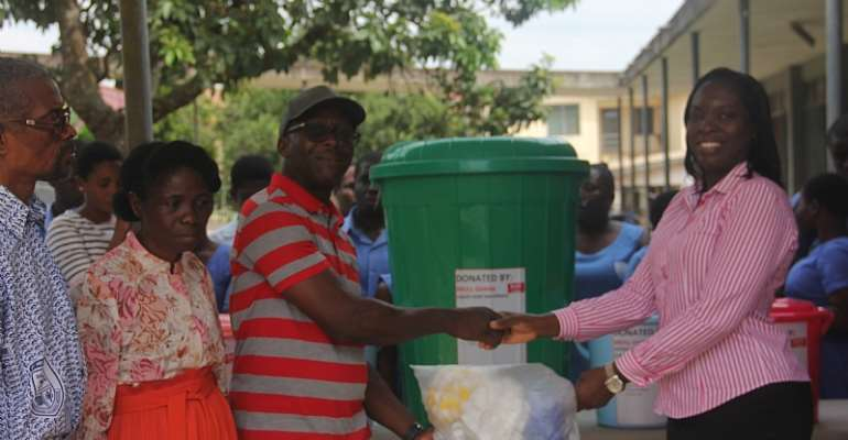 Broll Ghana Assists Vocational Students Of Akropong School For The Blind