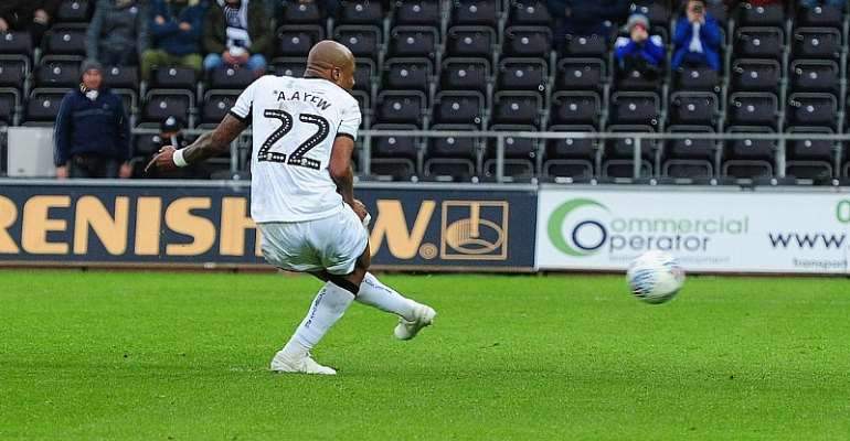 Andre Ayew Excited With His Brace In Swansea Win Over Middlesbrough