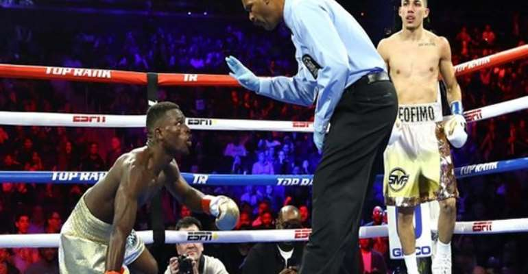 López's Knockout Punch To Commey Was A Luck Punch – GBA Secretary