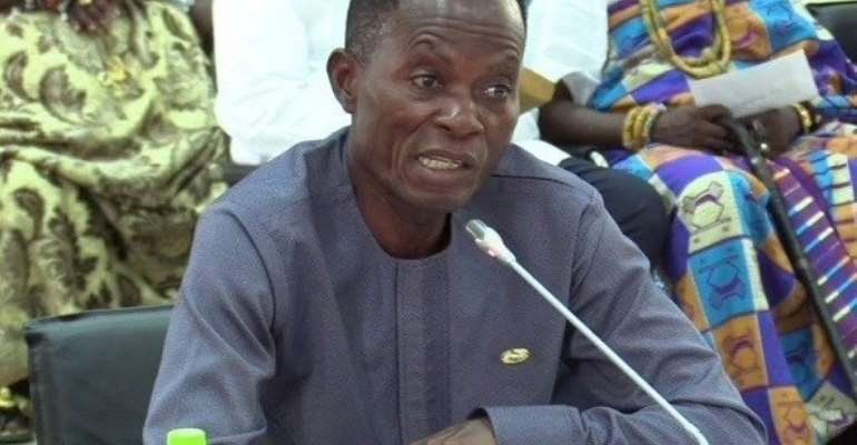 Deputy Volta Regional Minister, Mr Johnson Avuletey