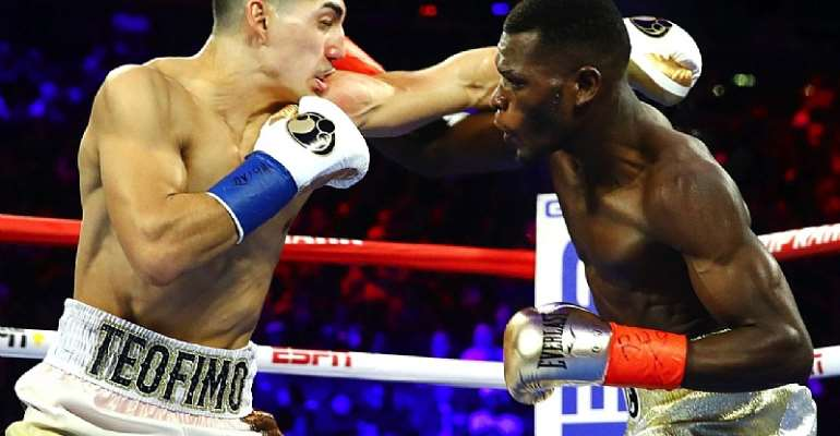 New IBF Champion Teofimo Lopez Hails Richard Commey