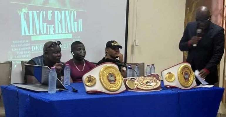 Bukom Banku Meets Media Ahead Of 'King Of The Ring' Show Down At Bukom Boxing Arena