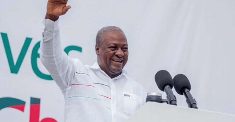 District Elections – Mahama Urge Ghanaians To Step Out And Vote
