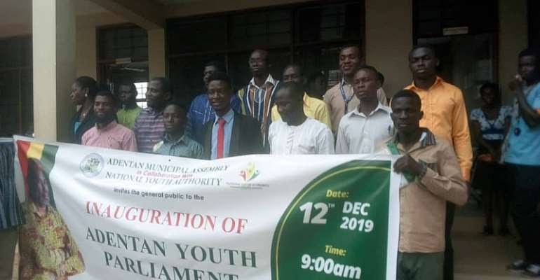MCE Inaugurates Youth Parliament For Adentan