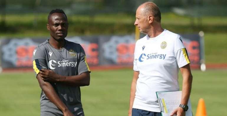 Emmanuel Agyeman Badu Returns To Hellas Verona Training