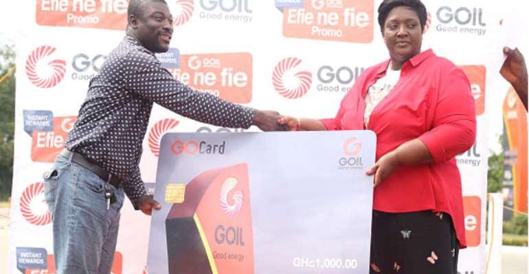 GOIL Rewards 920 Loyal Customers