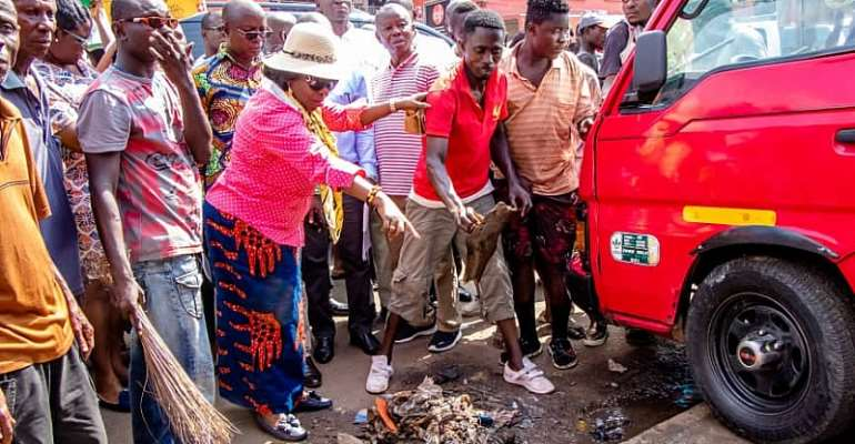 Sanitation Minister Inspects Sanitation, Water Facilities In Kumasi