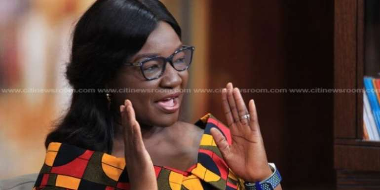 Joyce Bawa Slams Gov't For Abandoning Mahama Road Projects