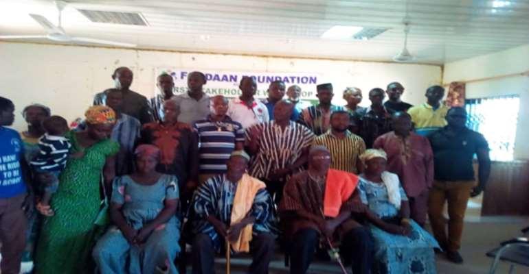 Participants at the forum