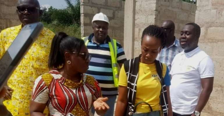 MTN Foundation officials on official visit