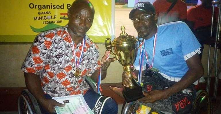 Ghana Wheelchair MiniGolf Association Holds Maiden Awards Night At Ceasar's Court