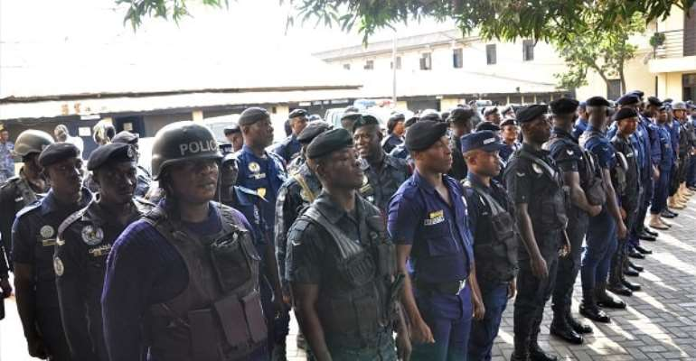 District Elections: 48,000 Security Officers Deployed
