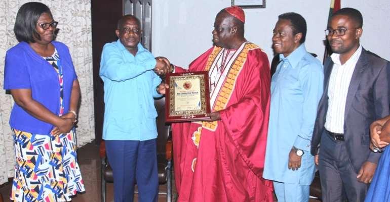 Ashanti Regional Minister Honoured For Exemplary Leadership