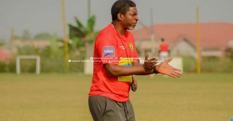 Kotoko Is Not In The Best Of Shapes - Maxwell Konadu