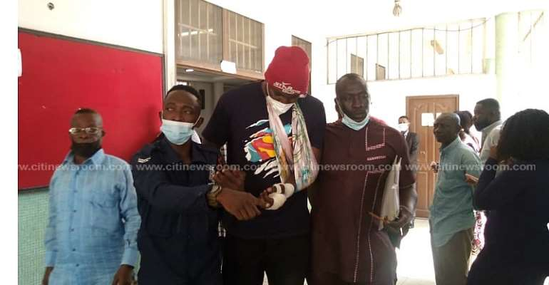 Ablekuma Central: Man who allegedly shot reporter, others at collation centre remanded