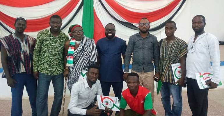 Photos: NDC Takes Party School To The Brong Ahafo Region