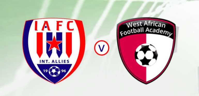 Inter Allies To Engage WAFA In Friendly Today