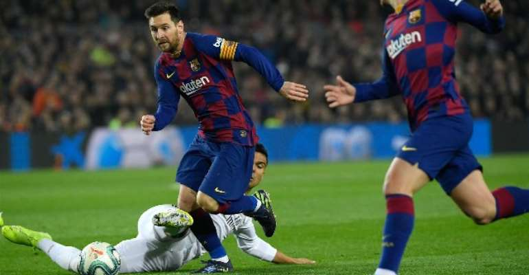 La Liga: Barca And Real Play Out Uneventful El Clasico Draw