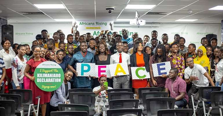 2019 Africans Rising Regional Convening Hosted In Accra to Discuss Climate Change and Free Movement Across Africa