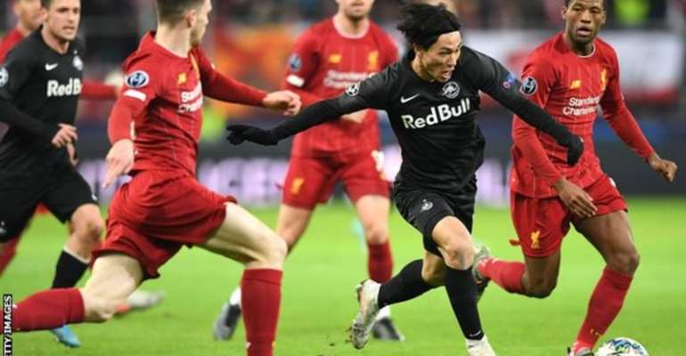 Takumi Minamino: Liverpool Medical For Red Bull Salzburg Winger