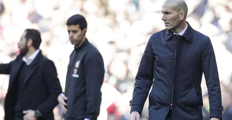 Clasico: Zidane Says Real Madrid Only Focused On Football Amid Fears Unrest