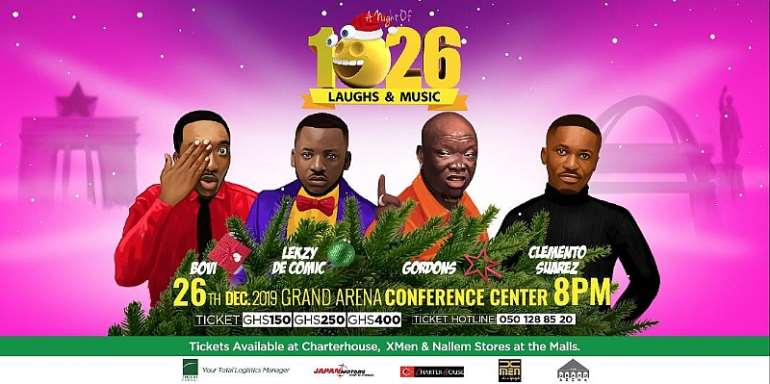 """Basket Mouth, Akpororo, Others To Perform At """"A night Of 1026 Laughs"""""""
