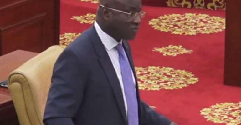 When pointing one accusing finger at Osei-Kyei Mensah Bonsu, threepoint at you, Muntaka Mubarak
