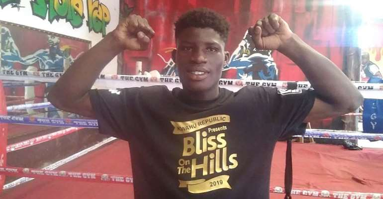 Alfred Lamptey To Fight In The UAE