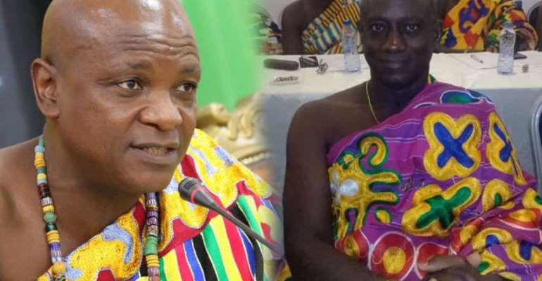 Togbe Afede XIV and Tetrete Okuamoah Sekyim II