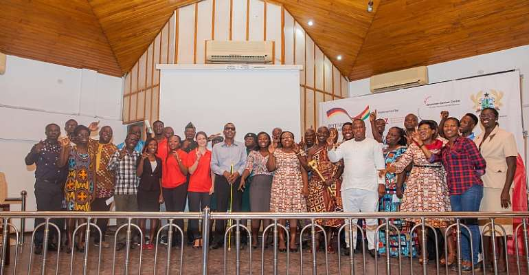 Ghanaian-German Centre For Jobs, Migration And Reintegration Celebrates Imigrants' Day