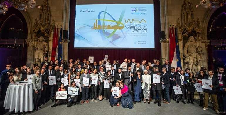 WSA Award Ceremony 2017 Vienna