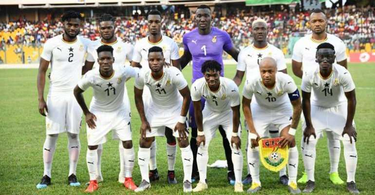 Ghana Ends 2019 In 47th Place On FIFA Rankings; 6th In Africa