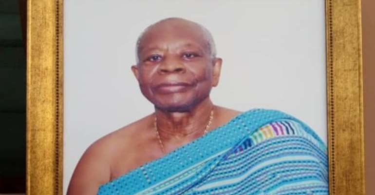 Tribute To Oheneba Dr Jones Ofori Atta (Akwasi Jones)