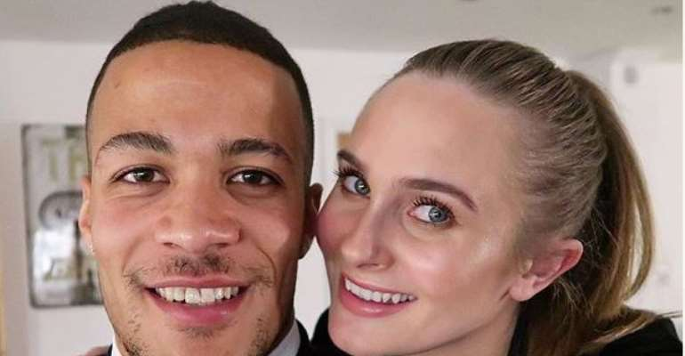 Super Eagles player, William Troost-Ekong Shares Cute Photos with Wife