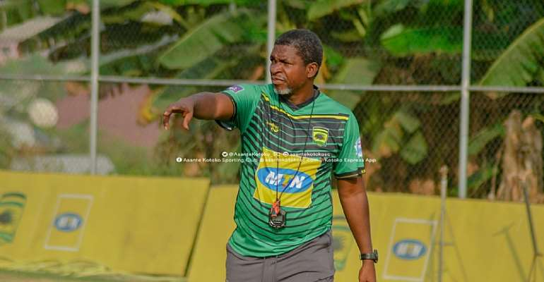 Head coach for Asante Kotoko Maxwell Konadu