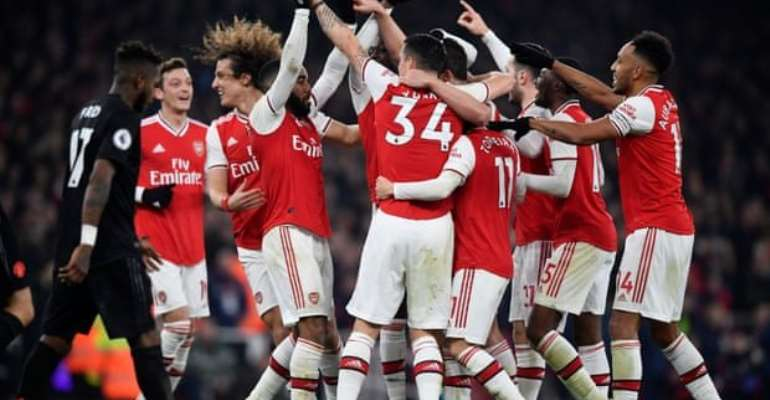 PL: Arsenal Beat Man Utd For First Win Under Arteta